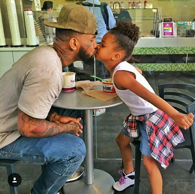 Happy 6th Birthday Cali Dream.. The Game celebrates His Daughter's Birthday In Style!