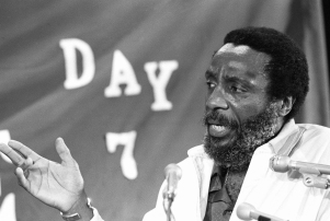 Dick Gregory 1982, Springfield, USA